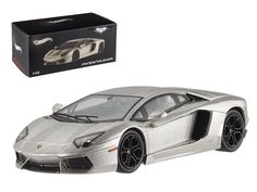 """Hot wheels Lamborghini Aventador LP700-4 """"The Dark Knight Rises"""" Elite Edition 1/43 Diecast Model Car by Hotwheels - Rubber tires. Brand new box. Detailed interior, exterior. Comes in plastic display showcase. Dimensions approximately L-4 inches long.-Weight: 1. Height: 5. Width: 9. Box Weight: 1. Box Width: 9. Box Height: 5. Box Depth: 5"""