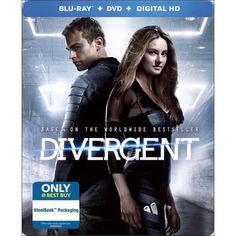Divergent DVD/Blu-Ray Steelbook
