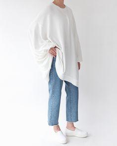 Death by Elocution : Photo Modest Wear, Modest Outfits, Simple Outfits, Casual Outfits, Cute Outfits, Muslim Fashion, Modest Fashion, Hijab Fashion, Korean Fashion