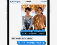 Réexpédier un message - Conseils et astuces pour iOS9 sur iPhone - Assistance Apple