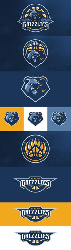 Memphis Grizzlies Concept by Matthew Doyle