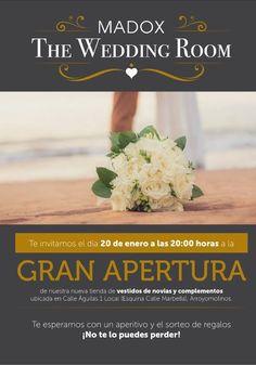 Inauguración de Madox the Wedding Room en Arroyomolinos