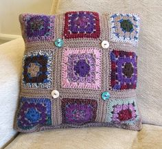 crochet pattern for cushion - Bing Images