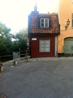 The smallest house in Stockholm.