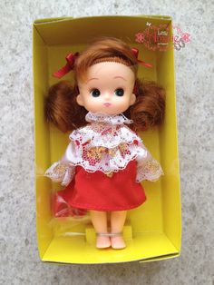 Sale and Rare Licca sister Miki chan the Anniversary of by poppyw, $95.00