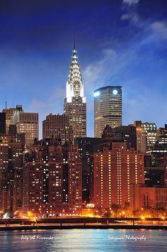 Chrysler Building in New York City Manhattan NYC.