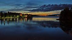 Sunset in Varkaus by Antti-Jussi Liikala, via Flickr