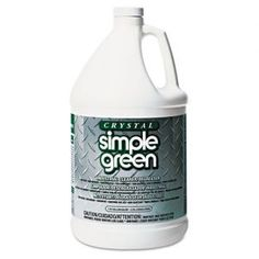 simple green All-Purpose Industrial Cleaner/Degreaser  - 1 Gallon Size - Liquid - Neutral Scent - 6/ Carton