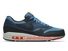 new products 3663e 023ad Nike Air Max 1 Essential 537383 402 squadron blue Chaussures Nike Prix Pour  Homme Blue-1706202064