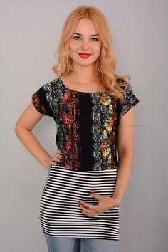 Туника-двойка Г1861 Цена: 350 руб Размеры: 42-52  http://odezhda-m.ru/products/tunika-dvojka-g1861  #одежда #женщинам #туники #одеждамаркет