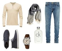 """""""Autumn"""" by giilerme on Polyvore featuring Fear of God, Gap, Wenger, Calvin Klein, men's fashion e menswear"""