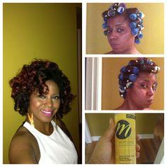 Best rollers for black hair the best black hair 2017 66 best hair rollers on natural images urmus Gallery