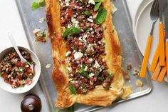Makeover your weekly cooking repertoire with this flavour-packed Middle Eastern lamb tart.
