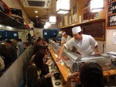 寿司大 築地 Sushidai in Tsukiji Fish Market