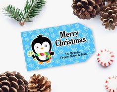 Christmas Gift Tag, Printable Christmas Gift Tag, Printable Tag, Editable Christmas gift tag, DIY Printable INSTANT DOWNLOAD   #printable #ChristmasTag #PrintableGiftTag #DiyPrintable #GiftTag #EditableGiftTag #ChristmasGiftIdea #ChristmasGiftTag #PrintableTag #EditablePdf