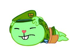 But Whats Are Thoes Sounds. It Sounds Like A Grenade Exploded! Happy Tree Friends Flippy, Three Friends, Cartoons, Gifs, Deviantart, Memes, Cute, Animated Cartoon Movies, Cartoon