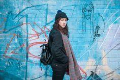 Asmat Hat photographed by Jenni Salonen in London for COSTO Raincoat, Winter Jackets, Street Style, London, Jenni, Hats, Fashion, Rain Jacket, Winter Coats
