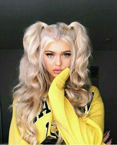 Pin By K I N Z On Loren Gray In 2019 Long Curly Hair Hair Curly - loren gray hairstyles step by step spring hairstyles step by step Hairstyles For School, Braided Hairstyles, Pigtail Hairstyles, Hairstyles Tumblr, Wedding Hairstyles, Summer Hairstyles, Toddler Hairstyles, Girl Hairstyles, Hairstyles 2016