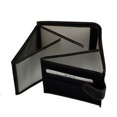 Kortholder i kunstlæder fra Maromondo i sort - R3356