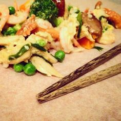 Mine matskriblerier: Stekt ris