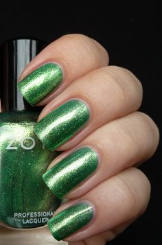 Zoya Nail Polish in Apple swatches from AllYouDesire