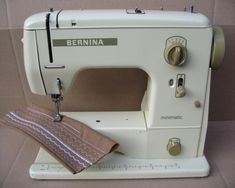 I have had my Bernina 707 Minimatic sewing machine for about 15 years and it is still going strong Knitting Storage, Knitting Needle Sets, Sewing Machine Service, Sewing Machine Reviews, Sewing Hacks, Sewing Projects, Sewing Tips, Sewing Online, Vintage Sewing Machines