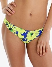 Pour Moi Crazy Daisy Brief - Blue Yellow Turn heads with vibrant prints this season in the Pour Moi Crazy Daisy Brief with its statement yellow daisy print on an indigo blue background http://www.comparestoreprices.co.uk/january-2017-9/pour-moi-crazy-daisy-brief--blue-yellow.asp