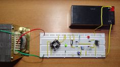 This automatic battery charger circuit automatically shut off the charging process when battery attains full charge. It can be used to charge 12V Lead-acid batteries.
