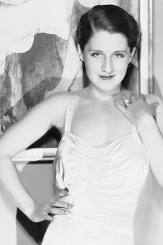 Norma Shearer, photographed by George Hurrell, 1930.