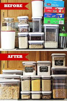 Organized Pantry Reveal {One Room Challenge | Pantry storage ...