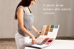 People often do6 interior design mistakeswhen it comes to material selection for homes. These interior design mistakes are not so big if you prepare yourself earlier. Leaving Home, Natural Light, Mistakes, The Selection, Things To Come, Homes, Interior Design, Big, People