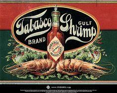Vintage mcilhenny's Tabasco ad made in new Iberia Louisiana