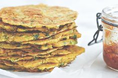 These quick, wheat-free pancakes are perfect for any time 