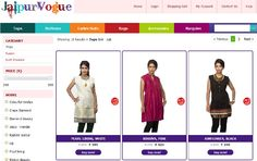 aipurvogue is a premium Brand committed to provide exclusive line of traditional ethnic fashion attires, dress material and a lot that reflects the traditional and modern Jaipuri styles.  Fusion Tops, Block Prints, Jaipuri Bandhej, exclusive skirts, ethnic bags which have made their presence felt in the global fashion culture. Our company is located in the nerve-center of the Delhi and has been conducting all its business operations from here.    http://on.fb.me/VlmKEV