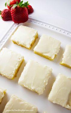 White Texas Sheet Cake   30 Minute Sheet Cake   Just like the original, chocolaty sheet cake you love! www.MyOwnBlogReview.com