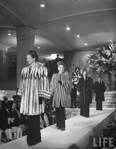 Neiman Marcus fashion show, 1945.