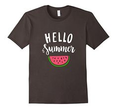 Hello+summer+with+watermelon+Shirt
