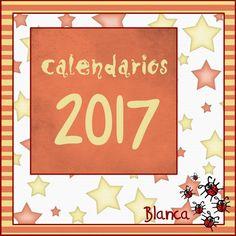 Actividades para Educación Infantil: Calendarios para el 2017
