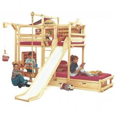 The Best Bunk Beds For Toddlers @Cari Resnick  - this is what your boys need!