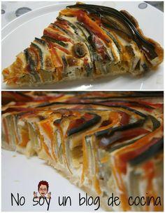 No soy un blog de cocina: ESPIRAL DE VERDURAS Zucchini, Vegetables, Blog, Savory Snacks, Cooking Recipes, Desserts, Veggie Spiral, Spirals, Pies