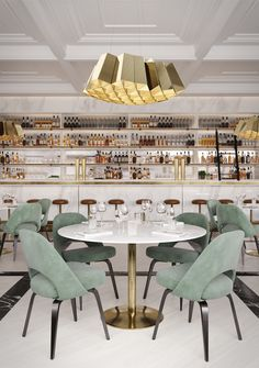 ALAVUS - Designer Suspended lights from Cameron Design House ✓ all information ✓ high-resolution images ✓ CADs ✓ catalogues ✓ contact. Restaurant Interior Design, Commercial Interior Design, Commercial Interiors, Home Interior, Luxury Interior, Luxury Furniture, Luxury Chairs, Luxury Dining Room, Scandinavian Interior