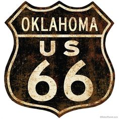 Past Time Signs Retro Planet Route 66 Rusty Street Signs Metal Art Route 66 Decor, Route 66 Sign, Old Route 66, Historic Route 66, Pub Vintage, Vintage Signs, Vintage Posters, Vintage Style, Vintage Black