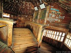 Sazae-do, Aizu-Wakamatsu //Japanese spiritual architecture, Double-helix staircase