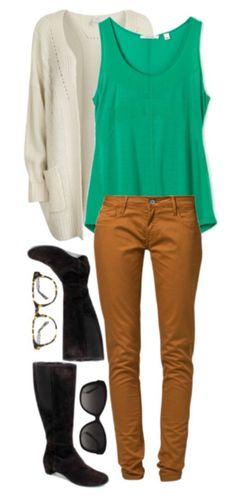 Khakis and a sweater! Fall Fashion 2013!