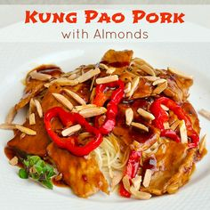 Kung Pao Pork with Almonds