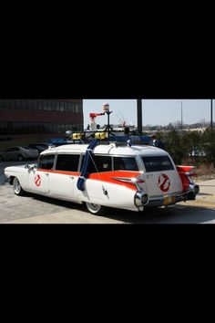 Ghost busters car!!
