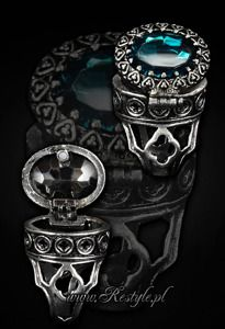 """One of a kind Gothic, locket ring """"POISON RING - BLACK"""" Oval ring with secret compartment from one of a kind gothic brand in the World. Check out our unique clothes, accessories and more shipped worldwide! Project Purple, New Rock Boots, Poison Ring, Goth Jewelry, Hair Jewellery, Gothic Rings, Secret Compartment, Oval Rings, Rocks And Gems"""