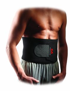 9c4e010594 McDavid 491 Waist Trimmer waist trimmer for relieving pain or losing weight  Cushions