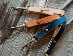 premium handmade leather key fobs
