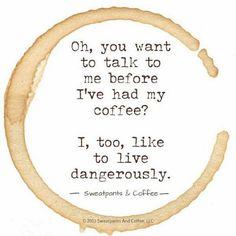Morning coffee humor